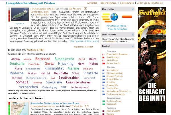 Online Werbung Piraten