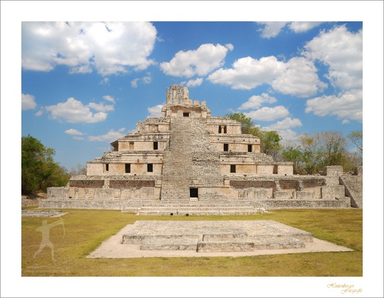 Edzná (Pyramiden nahe Campeche/Yucatan)
